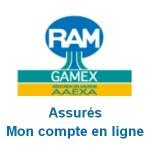 RAMGAMEX : Mon compte en ligne