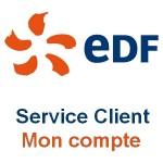 EDF Service Client : Mon compte