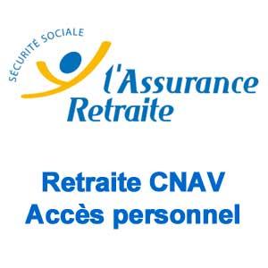 Retraite CNAV - Accès personnel