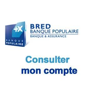 BRED-Consulter mon compte